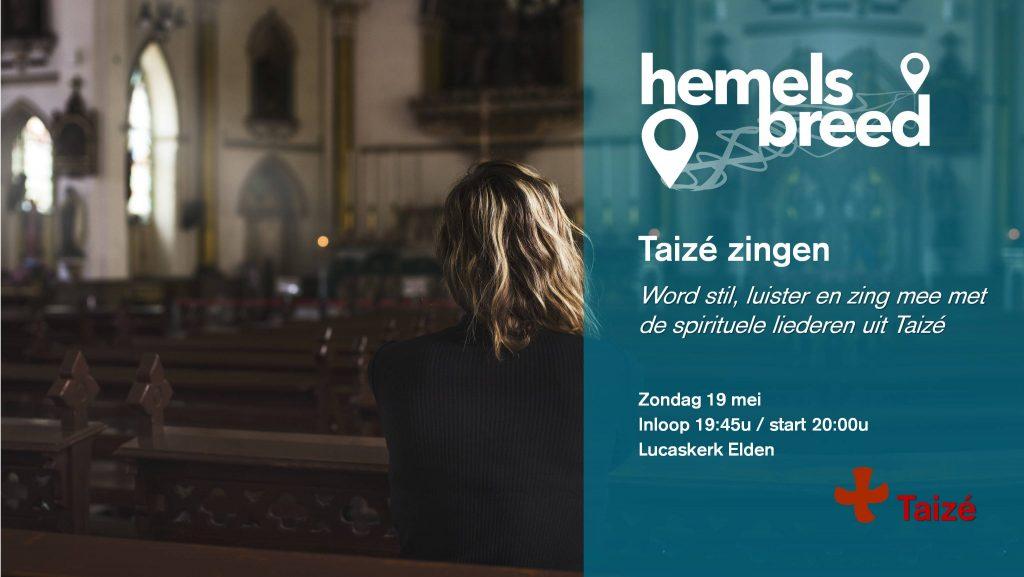 Taize zingen Arnhem